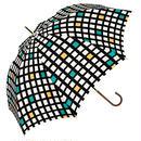 【a.s.s.a】RL104 ウィンドーチェック 雨傘
