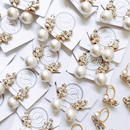 Crystal Wing × Pearl Earring