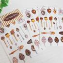 ChocolateSpoon☆シール2枚セット