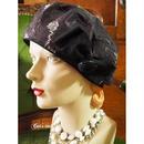 上質イタリア生地のクラシカルベレー帽