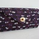 ≪M様オーダー品≫『働くいい女』のための究極のお財布バッグ(パープル×オーキッド)