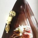 耳飾りWater flower =halfcube M  216=
