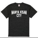 【受注製作商品】atleta nanyakisancity T-shirt ナンヤキサンシティTシャツ ヘザーブラック