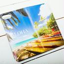 【ALOHA Island Days Collection】マグネットタイプiPhoneケース-Maui Sunny Days-