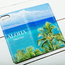 【ALOHA Island Days Collection】マグネットタイプiPhoneケース-Kaanapali-