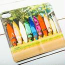 【ALOHA Island Days Collection】マグネットタイプiPhoneケース-Paia Town-