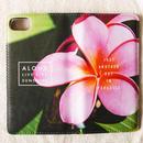 《ALOHA LIVE LIKE Collection》マグネットタイプ手帳型カバー-Pua Melia-