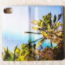 《ALOHA LIVE LIKE Collection》マグネットタイプ手帳型カバー-Anuenue With Aloha-