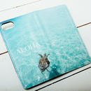 【ALOHA Island Days Collection】マグネットタイプiPhoneケース-Honuea-