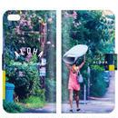 """手帳型ケース  SurfGirl シリーズ """"#01 SurfGirl"""""""