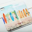 【ALOHA Island Days Collection】マグネットタイプiPhoneケース-Molokai Surf Town-