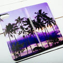 【ALOHA Island Days Collection】マグネットタイプiPhoneケース-GardenIslandMorning-