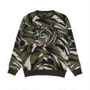 RIPNDIP TIGER NERM KNIT SWEATER (GREEN CAMO)