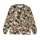 RIPNDIP LORD NERMAL POCKET L/S (ARMY CAMO)