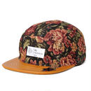 DL Headwear Omega 5Panel Camp Cap (vintage flower)