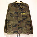 THUMPERS NYC STP HANDWRITTEN LOGO COACH JACKET (CAMO)