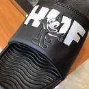 HUF × FELIX SLIDES (BLACK)