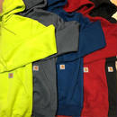 CARHARTT MID WEIGHT PULLOVER HOODIE (LIME, CHARCOAL, DEEP BLUE, DEEP RED, BLACK)