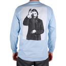 Theories Rasputin Longsleeve Tee (Light Blue)