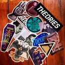 Theories Icon Sticker Pack (13 stickers)