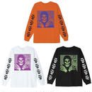 OBEY  MISFITS L/S TEE (ORANGE, WHITE, BLACK)
