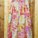 「ワニと鳥」 オリジナル生地スカート