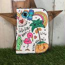 サマー刺繍母子手帳(マルチ)ケース