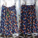 パイナップル柄スカート