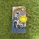 クジラの冒険刺繍オールデニムVerスマホケース(iphone6/6s,7/8用)