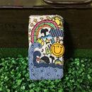 クジラの冒険刺繍スマホケース(iPhone6Plus/6sPlus、7Plus/8Plus用)