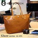 HERGOPOCH エルゴポック Glaze グレイズ Glazed Leather グレイズドレザー ファスナートート GL-STL