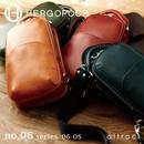 HERGOPOCH エルゴポック no.06 Waxed Leather ワンショルダーバッグ 06-OS
