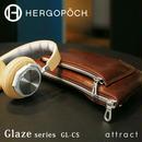 HERGOPOCH エルゴポック Glaze グレイズ Glazed Leather グレイズドレザー クラッチショルダー GL-CS