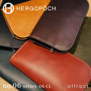 HERGOPOCH エルゴポック no.06 Waxed Leather クラッチバッグ 06-CL