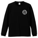 Cross L/S TEE Black