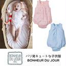 BONHEUR DU JOUR パリの子供服 ベビーロンパース(17002)