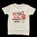 A&WヴィンテージTシャツ:ホワイト