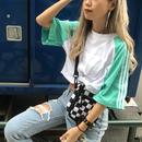 4LINEショートTシャツ【¥3,490→¥1,969】