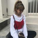編み編みknitキャミ