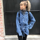 2WAY♡denimシャツ