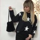 シャギーニット「STAR」