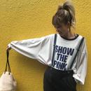 たぽ袖BIGロンT「SHOW」