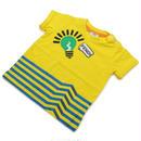 フェンディ (FENDI) ベビーTシャツ ベビー服BMI060 ST8 F0QF1イエロー系サイズ(#12M)