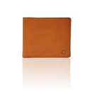 "made in Ryogoku ""粋"" HOKUSAI  Billfold Wallet  (Natural Brown)"