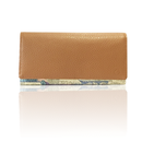 "made in Ryogoku ""粋"" HOKUSAI  Long Wallet  (CAMEL)"