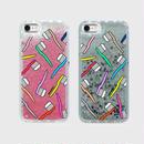 【iPhone6/6S/7/8】歯ブラシ グリッターケース