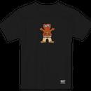"""Grizzly / """"Thug Bear Youth T-Shirt"""" Black / L, XL"""