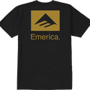 "Emerica / ""Brand Combo T-Shirt"" Black / S"