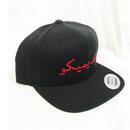 """19SS""  PANDEMIC  パンデミック   Snap Back Cap -Arabic Logo-  -Black/Red-"