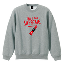 """""""18AW"""" PANDEMIC  Not rouge   Sweat    -Gray-"""